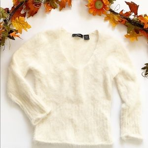 Express 80% Angora Hair Sweater L